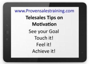 telesales tips on motivation