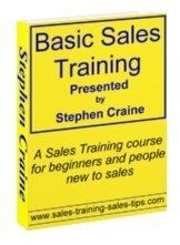 basic sales training course