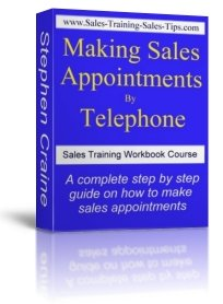 Making Sales Appointments by Telephone