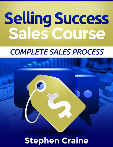 Selling Success sales training course