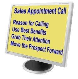 sales training on screen