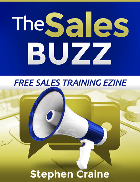 The Sales Buzz free sales training newsletter