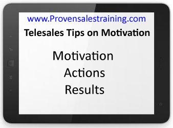 telesales tips on self motivation