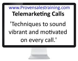 telemarketing motivation techniques